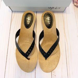 EUC Style & Co Halo Sandal w/Box